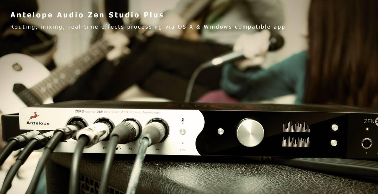 Antelope Audio Zen Studio+ More2