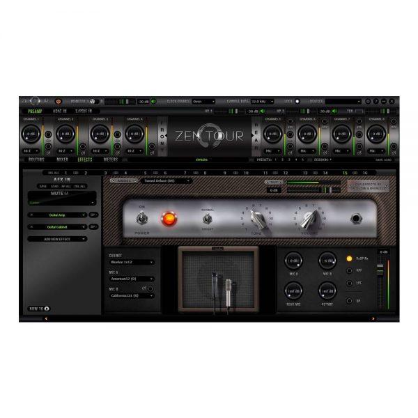 Antelope Audio Zen Tour Amp Modeling
