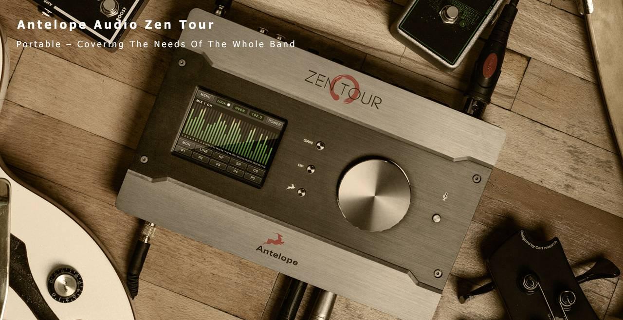 Antelope Audio Zen Tour Content