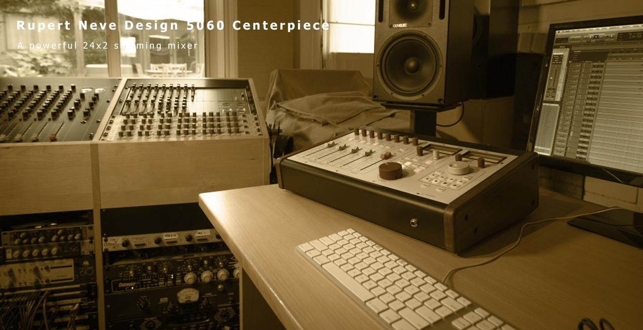 Rupert Neve Design 5060 Centerpiece Content