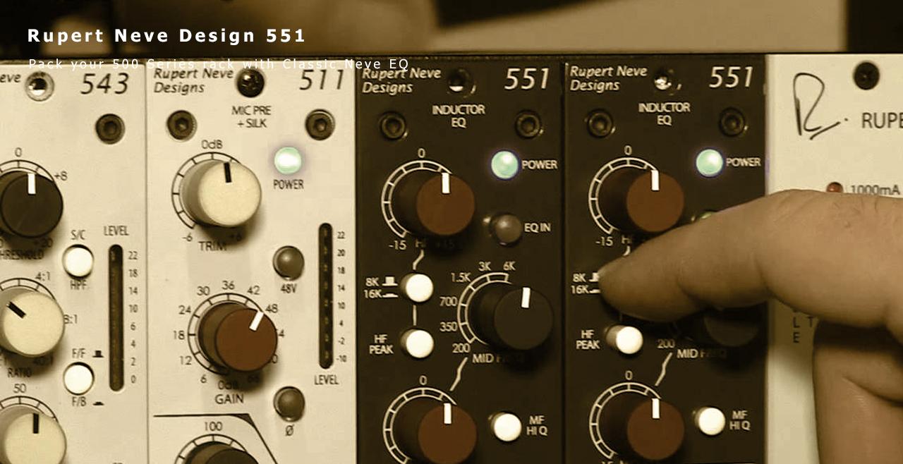 Rupert Neve Design 551 Content