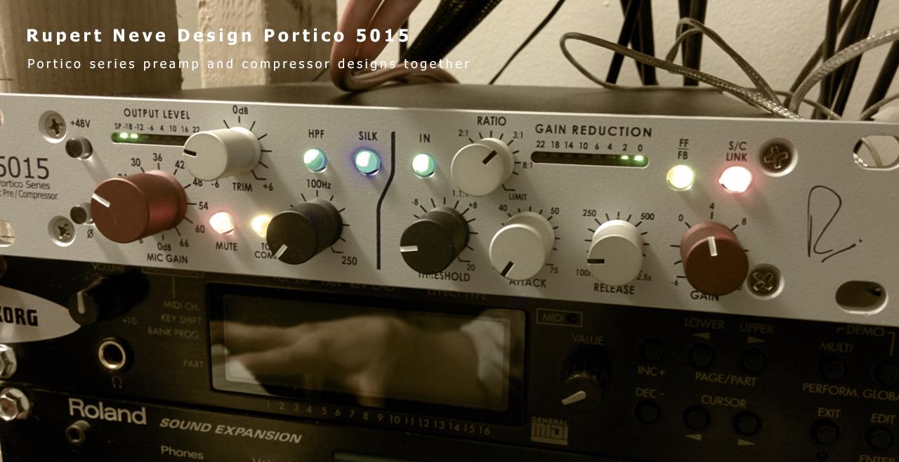Rupert Neve Design Portico 5015 Content