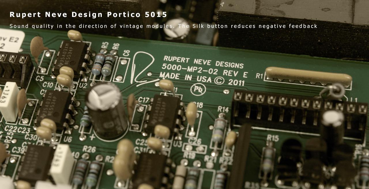 Rupert Neve Design Portico 5015 More1
