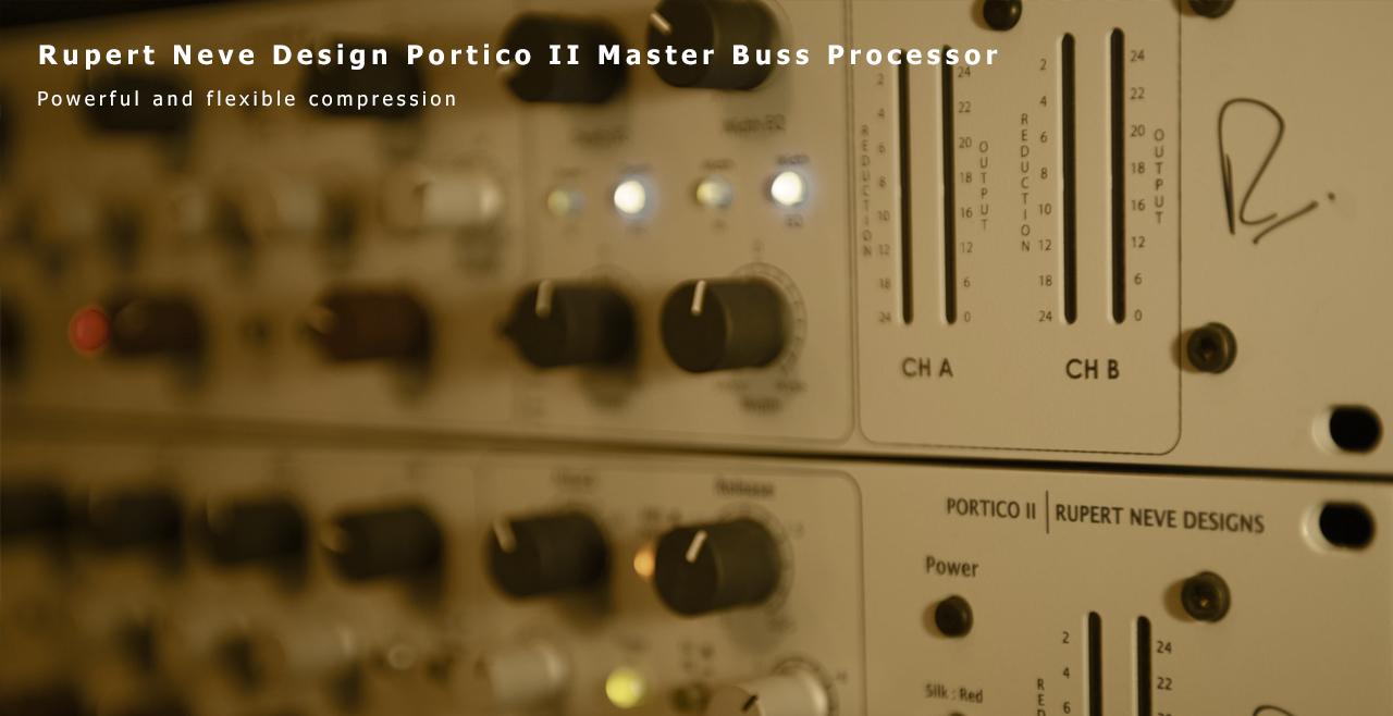 Rupert Neve Design Portico Master Buss Processor More3