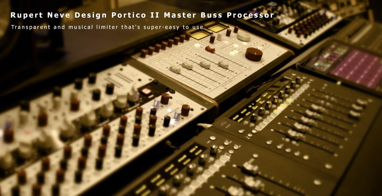 Rupert Neve Design Portico Master Buss Processor More4