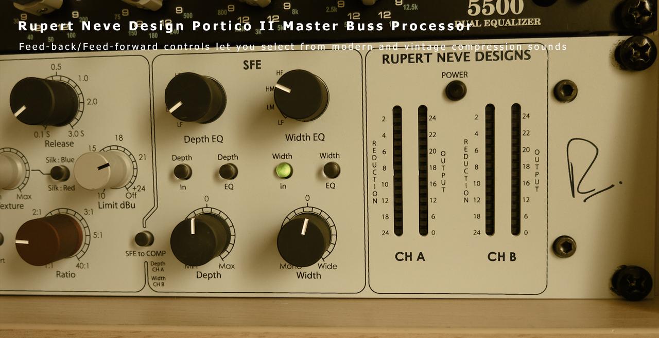 Rupert Neve Design Portico Master Buss Processor More6