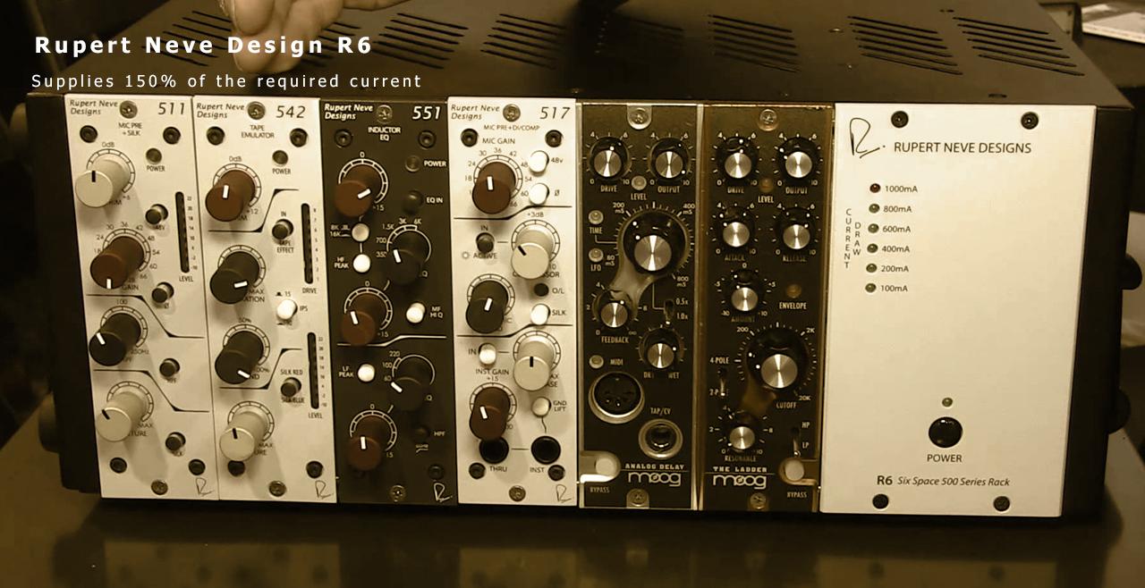 Rupert Neve Design R6 Content