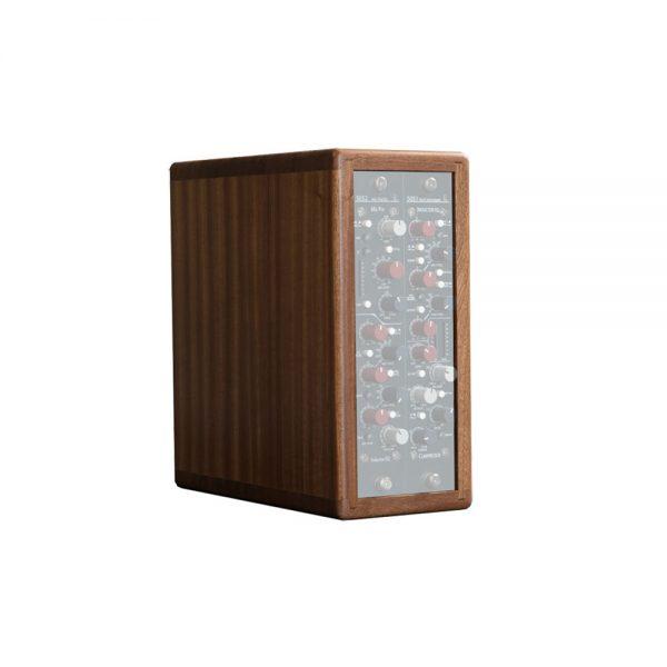 Rupert Neve Design Shelford Series Vertical Wooden Rack Left Angle