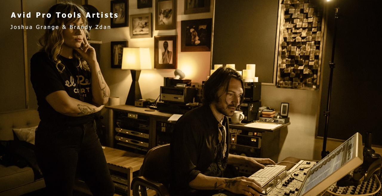 """Avid Pro Tools Artist ""Joshua Grange & Brandy Zdan"