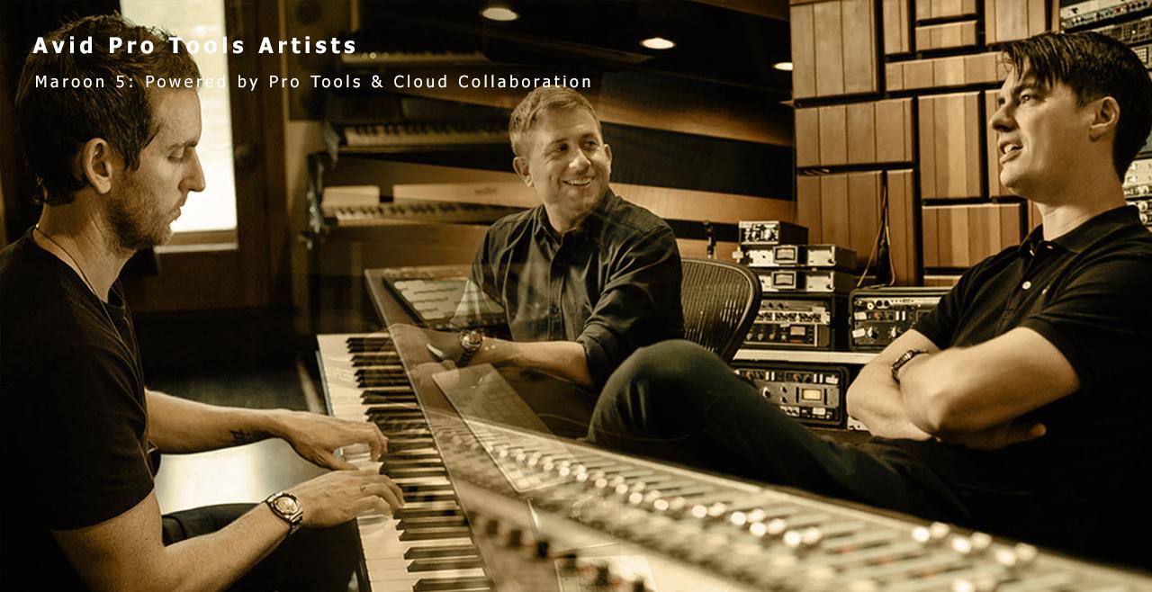 """""""Avid Pro Tools Artist """"Maroon-5"""
