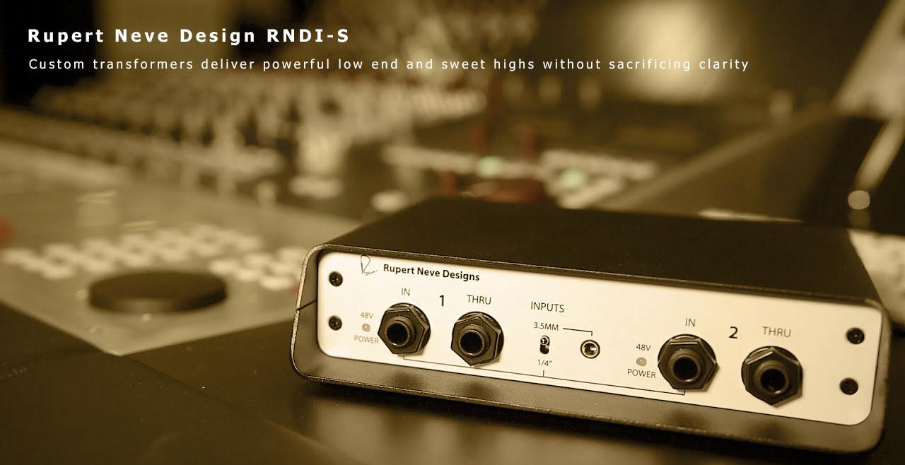 Rupert Neve Design RNDI-S Content