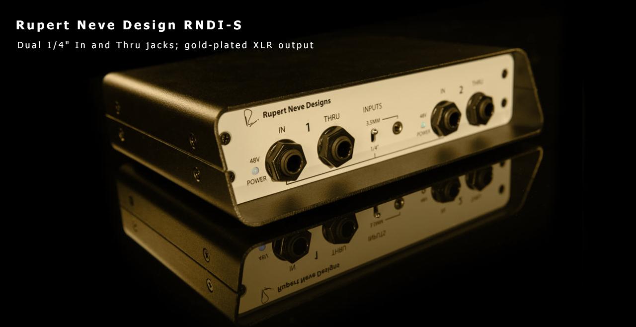 Rupert Neve Design RNDI-S Front More
