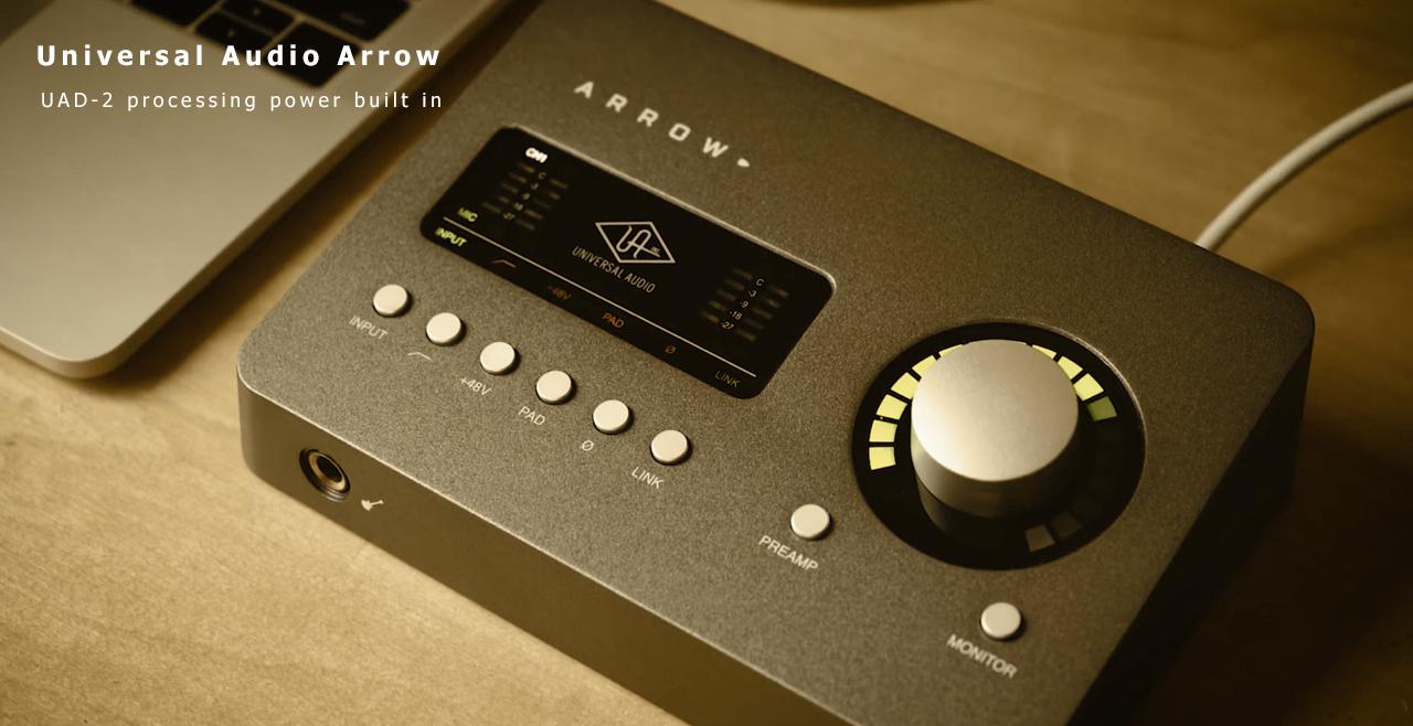 Universal Audio Arrow Content