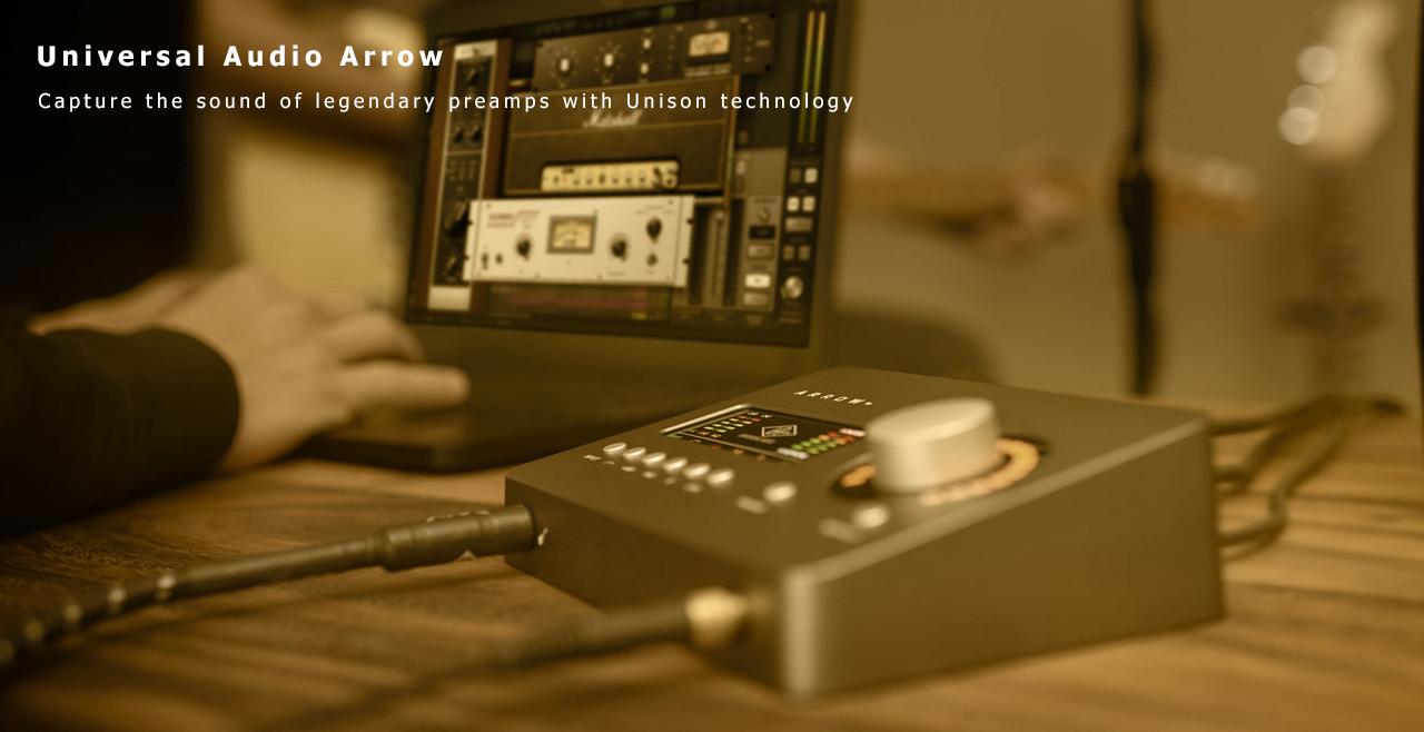 Universal Audio Arrow Detail