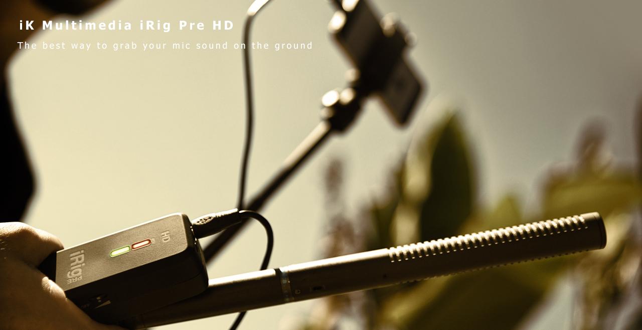 iK Multimedia iRig Pre HD Content