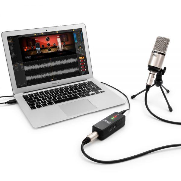 iK Multimedia iRig Pre HD Mac Book