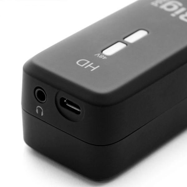 iK Multimedia iRig Pre HD Mini USB Connection