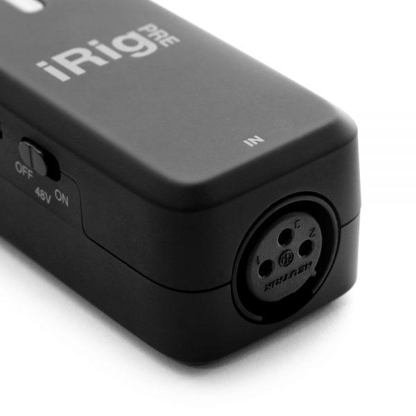 iK Multimedia iRig Pre HD XLR Connection