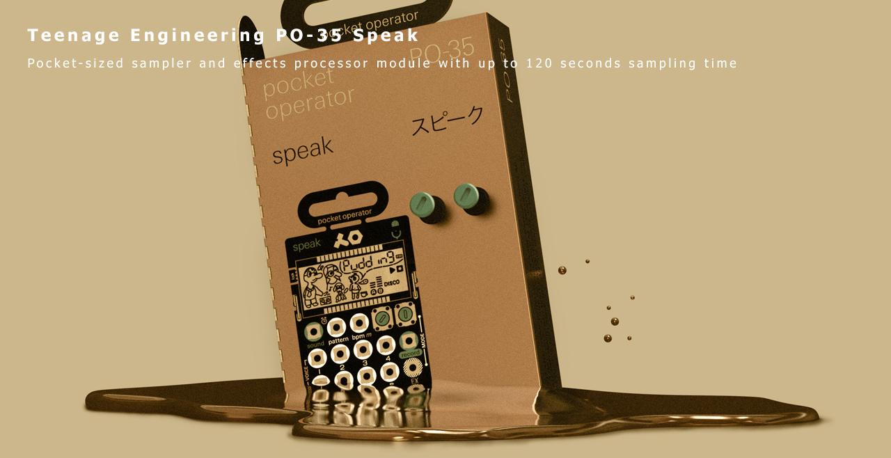 teenage engineering PO-35 Speak More