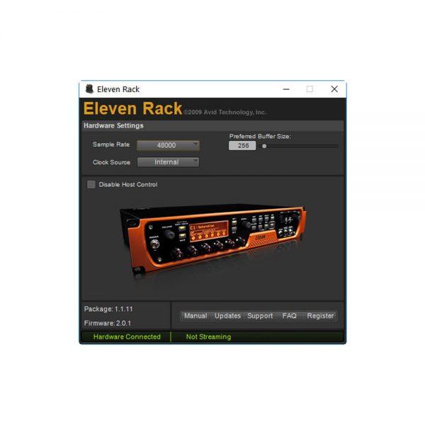 Avid Eleven Rack Control Panel