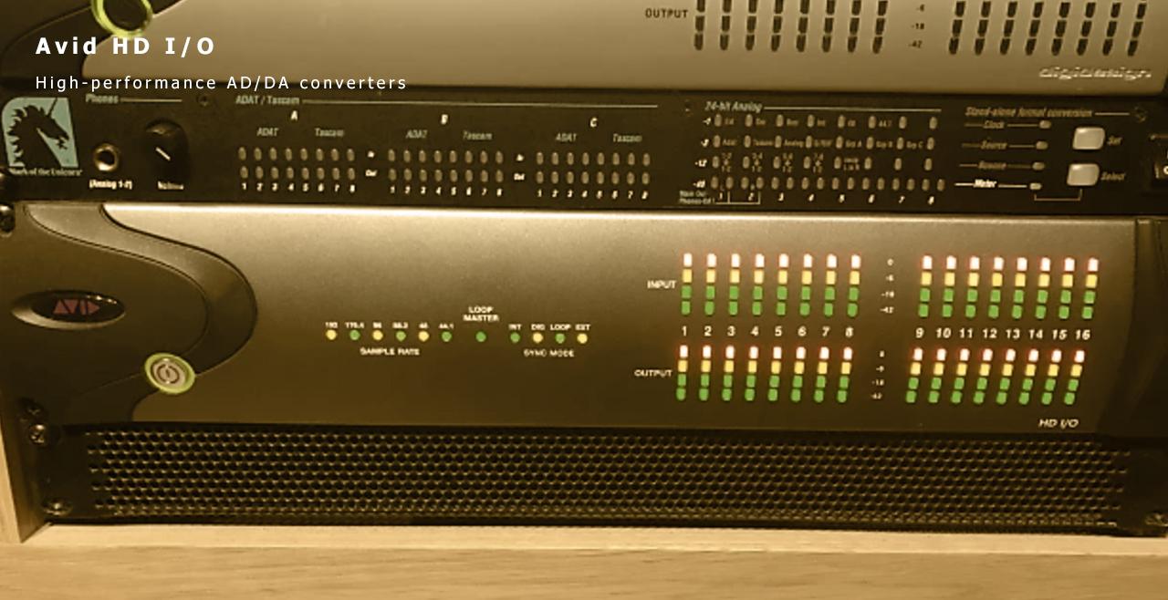 Avid HD I/O Content