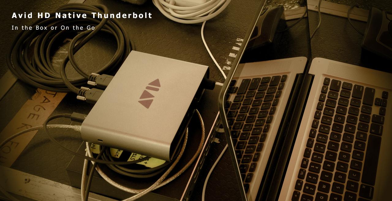 Avid HD Native Thunderbolt More