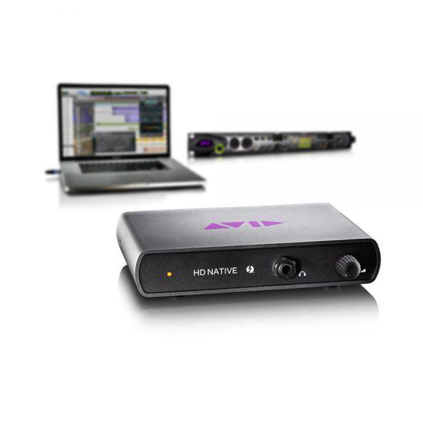 Avid HD Native Thunderbolt & Omni I/O