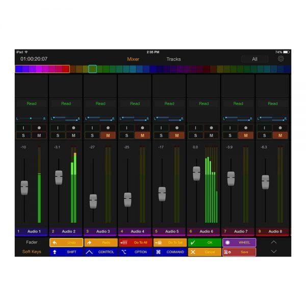 Avid Pro Tools | Control App Mixer