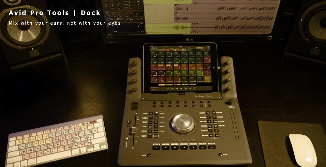 Avid Pro Tools | Dock Content
