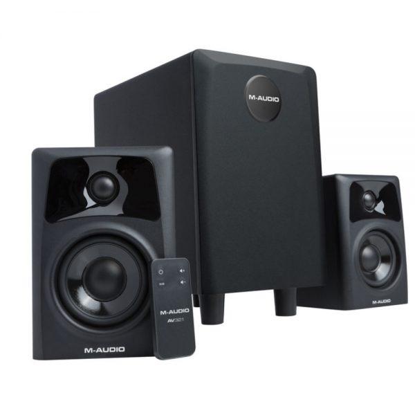 M-Audio AV 32.1 Angle Left
