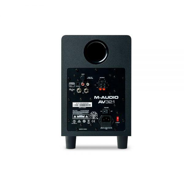 M-Audio AV 32.1 Back