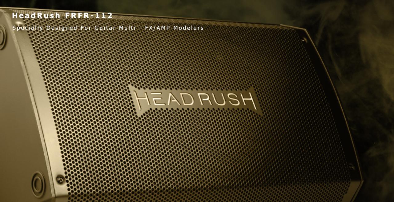 HeadRush FRFR-12 Content