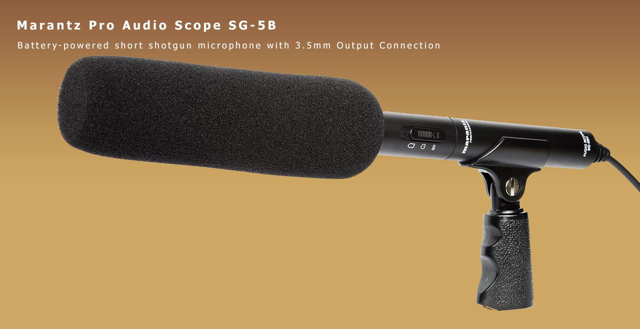 Marantz Pro Audio Scope SG-5BC Content