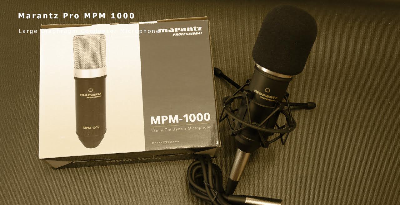 Marantz Pro MPM 1000 Content
