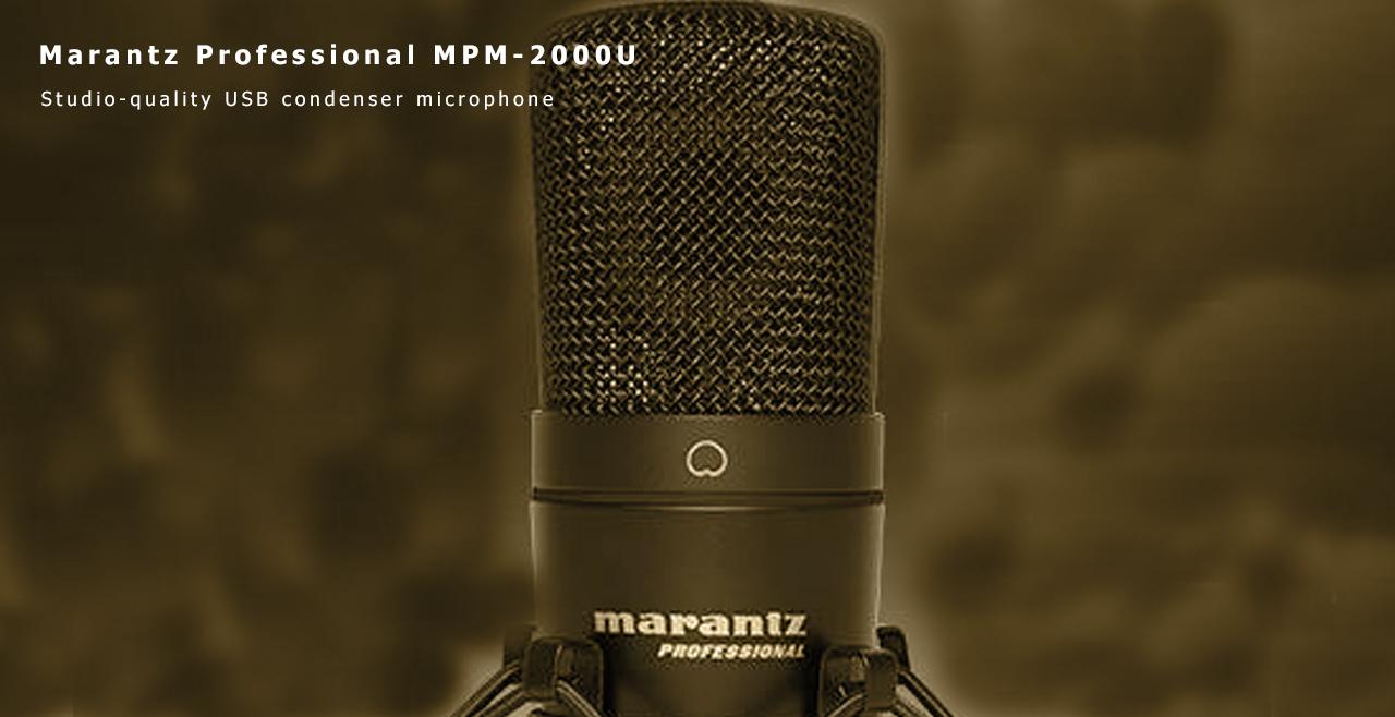 Marantz Pro MPM 2000U Content