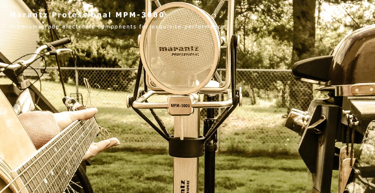 Marantz Pro MPM 3000 Content