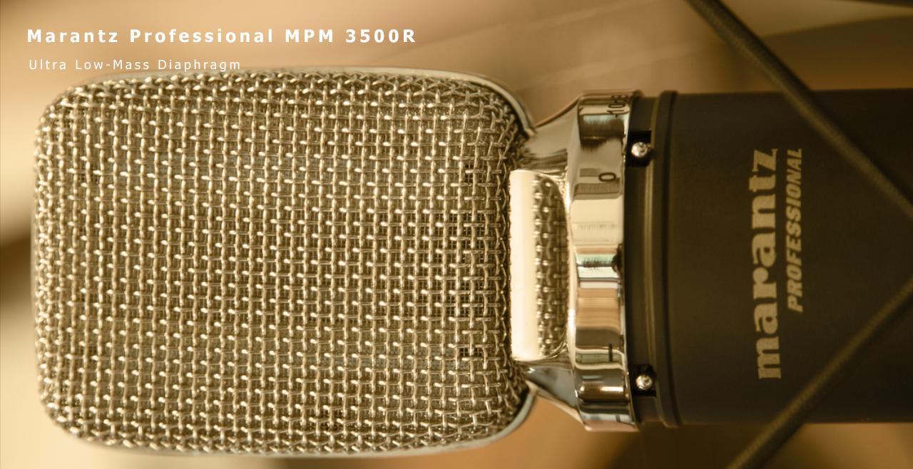 Marantz Pro MPM 3500R Content