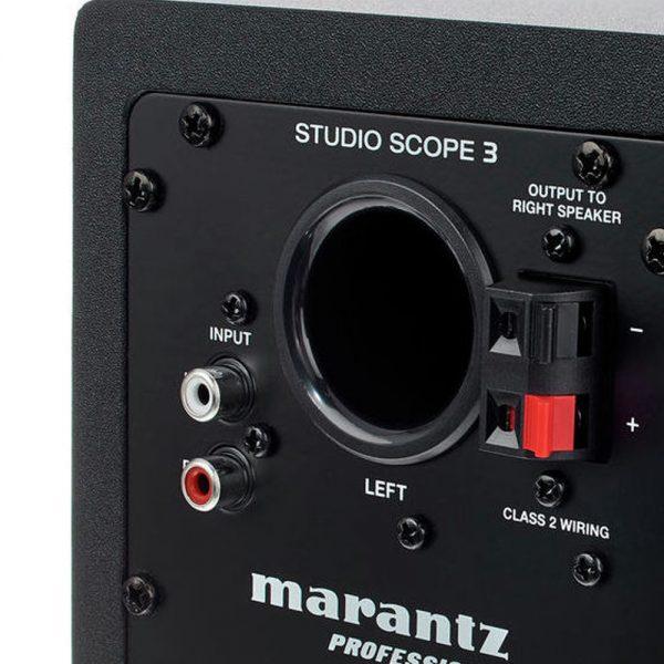 Marantz Pro Studio Scope 3 Input