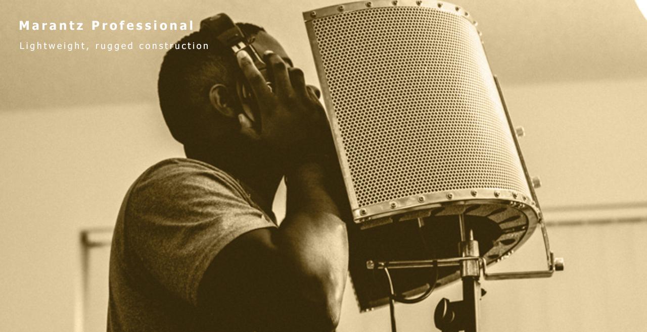 Marantz Professional Sound Shield Live Content