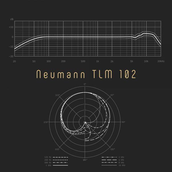 Neumann TLM 102 Freq