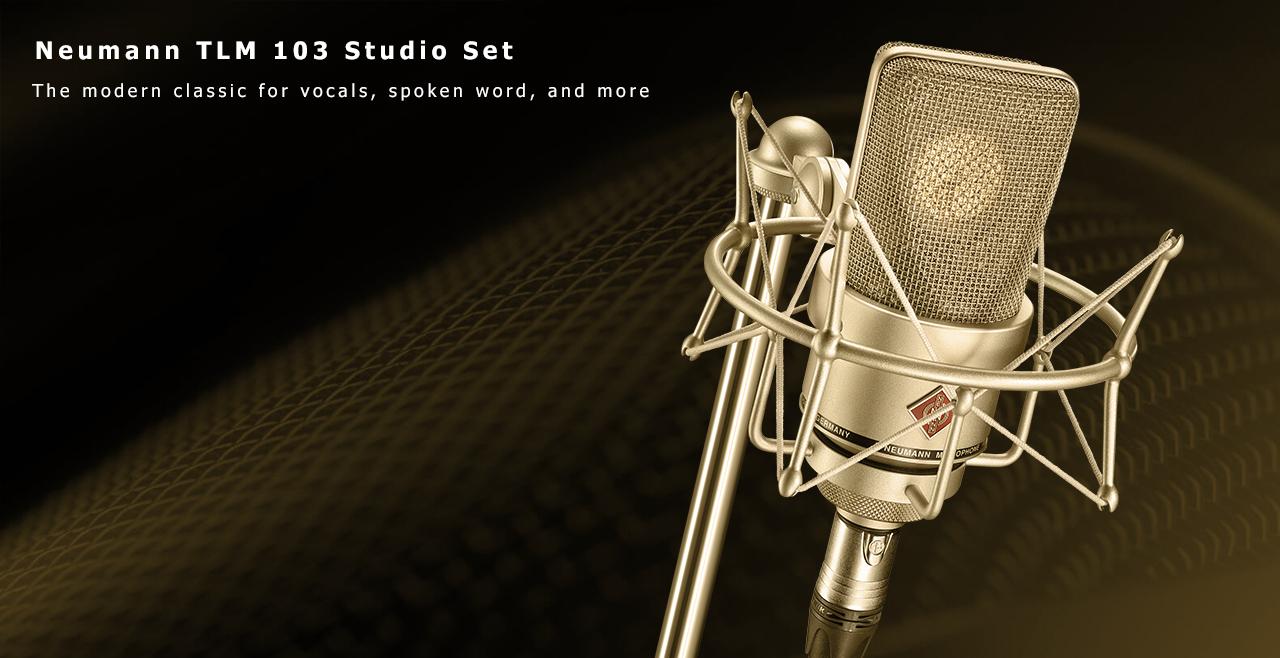 Neumann TLM 103 Studio Set Content