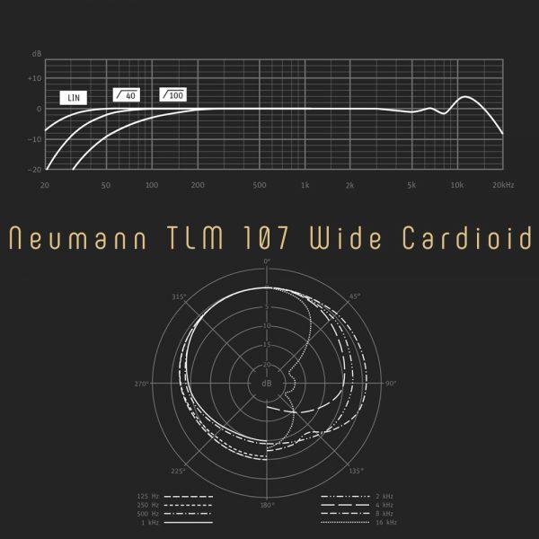 Neumann TLM 107 Wide Cardioid Freq