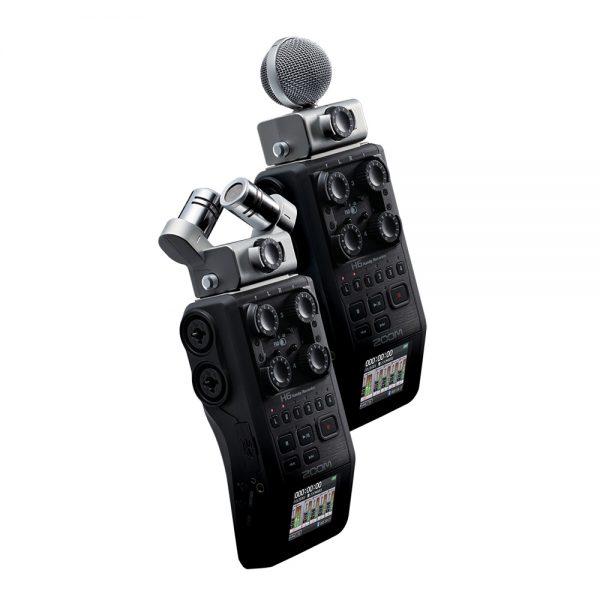 Zoom H6 Microphones