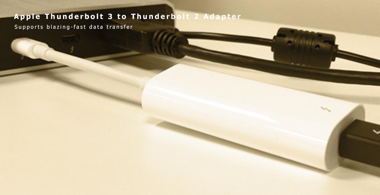 Apple Thunderbolt 3 to Thunderbolt 2 Adapter Content