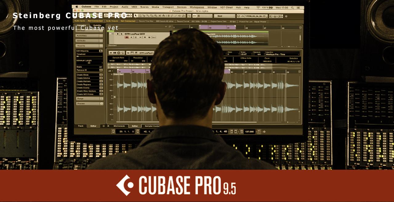Steinberg Cubase Pro 9.5 Banner