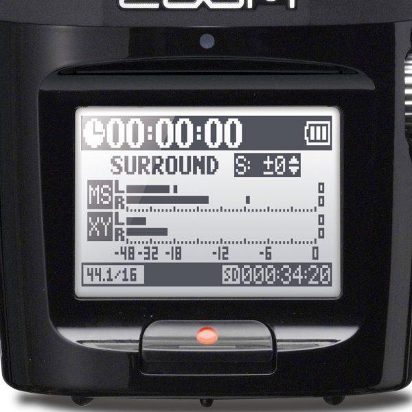 Zoom H2n Display