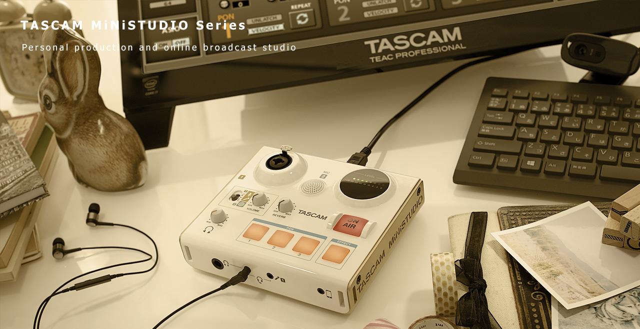 TASCAM MiNiSTUDIO US-32 Content