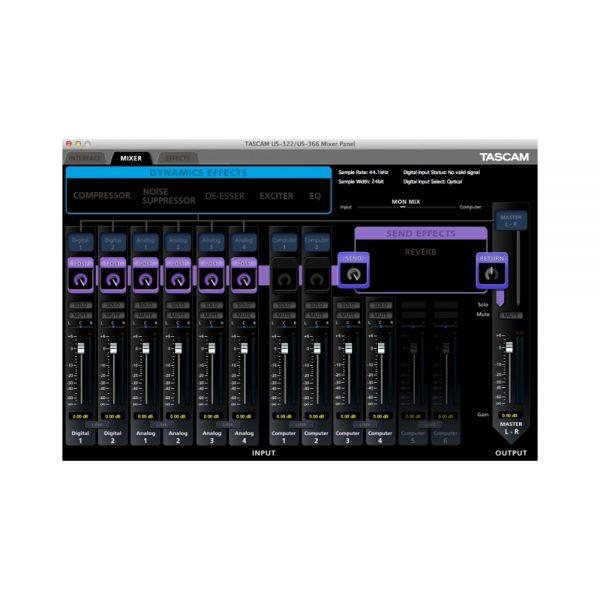 TASCAM US-366 Mixer