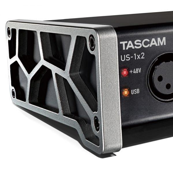 Tascam US-1X2 Side