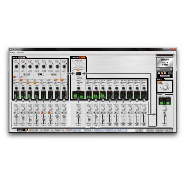 ZOOM UAC-8 MixEfx